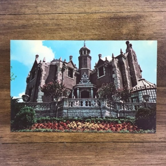 Vintage Other - Vintage Walt Disney World FL Souvenir Postcard